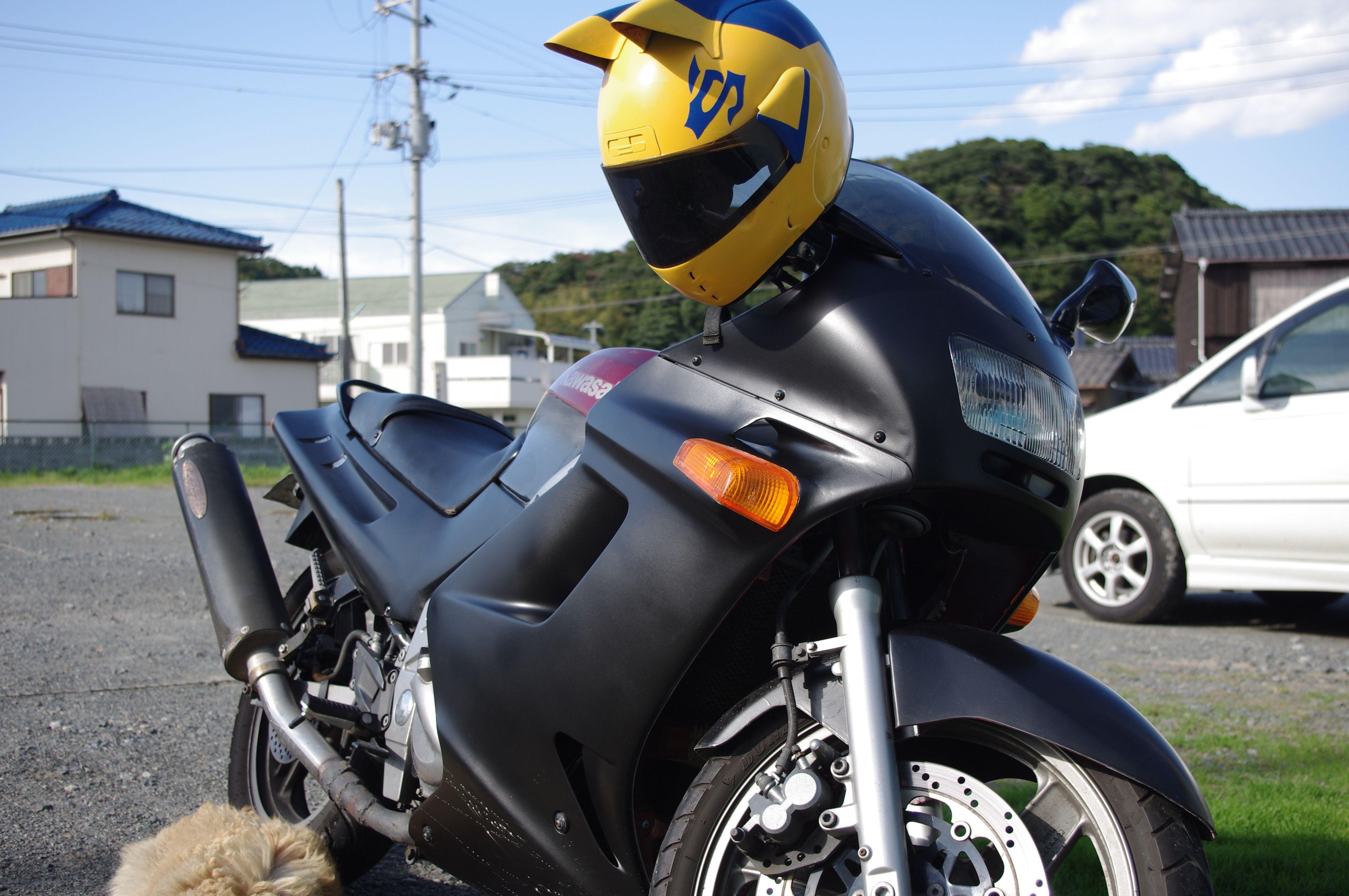 ZZR and DuRaRaRa Celty Sturluson helmet.. Want