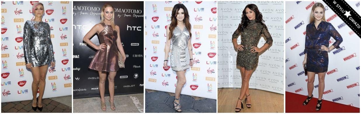 Sylwestrowe Inspiracje Gwiazd Trendy W Modzie
