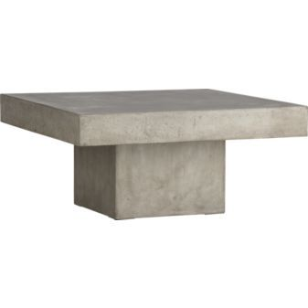 Cb Stone Agg Coffee Table Sq X H Sarahs Home - Cb2 stone table