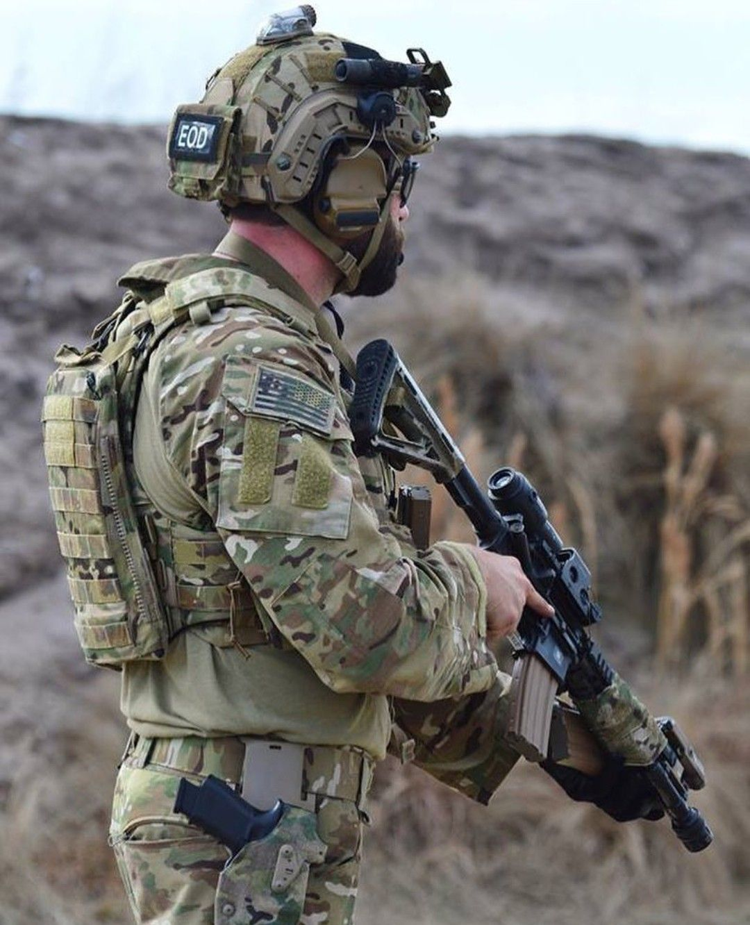 chihuahua Navy eod, Military forces, Special forces gear