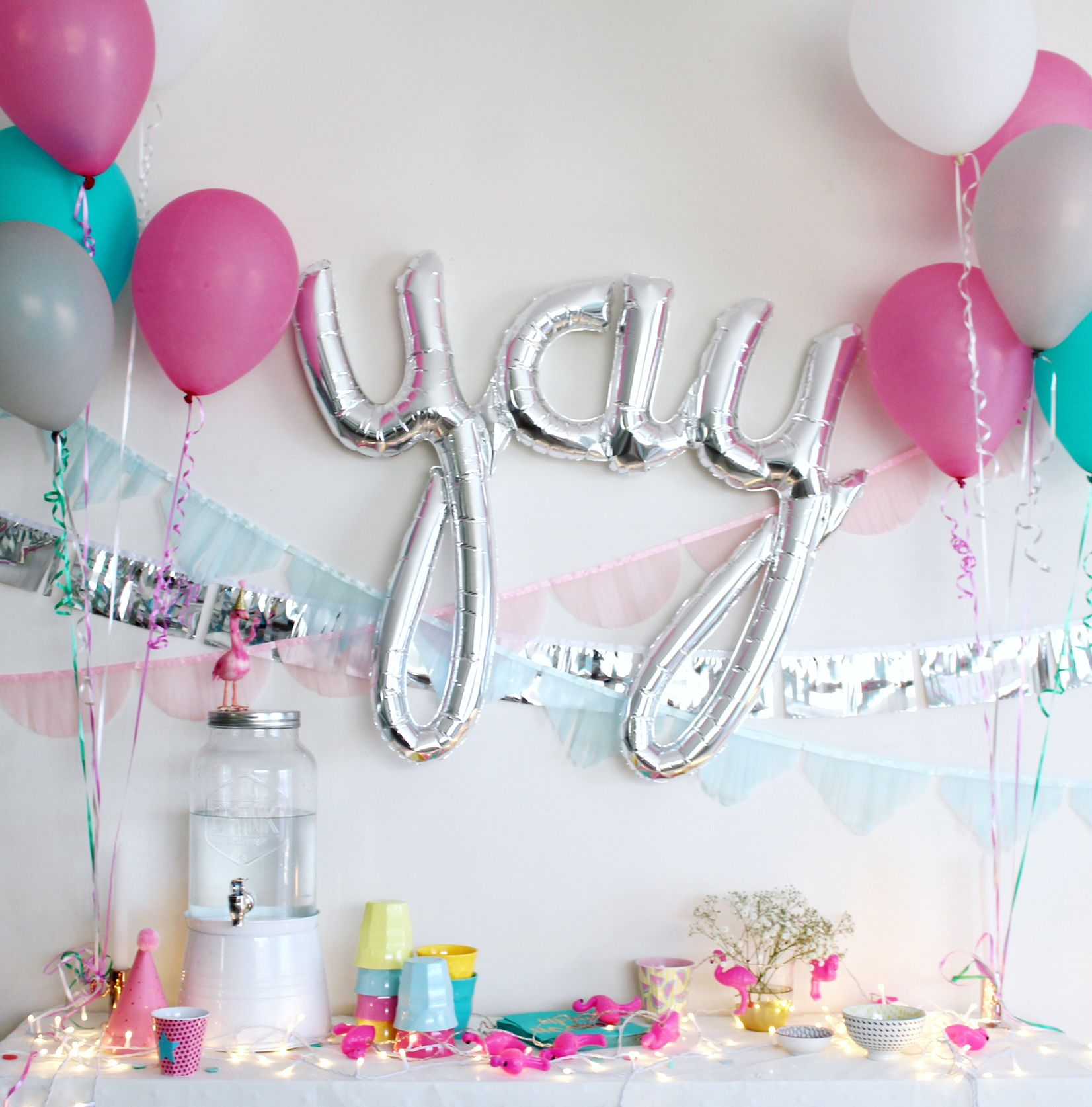Kid\'s Birthday Party Decorating Ideas | Hide + Seek | Party Planning ...