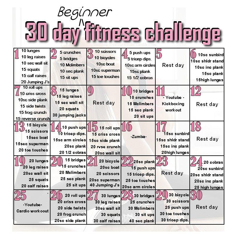 30 day beginner s