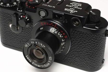"""""""Leica IIIf セルフ 赤エルマ-50mm f3.5 ブラックペイント仕様 """" https://sumally.com/p/282407"""