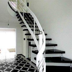 Freitragende Treppe freitragende treppe bolzentreppe granit nero assoluto
