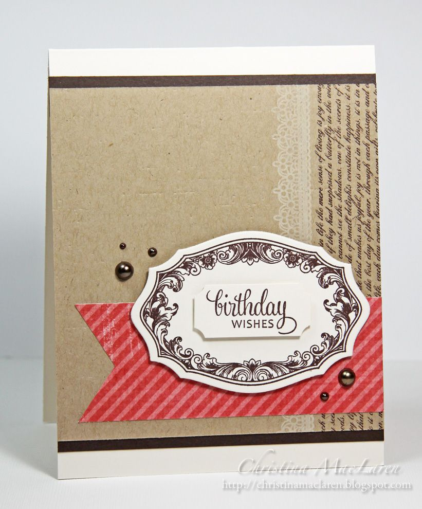 WPlus9's Very Vintage Greetings by Christina Maclaren, Sea Glass & Sentiments