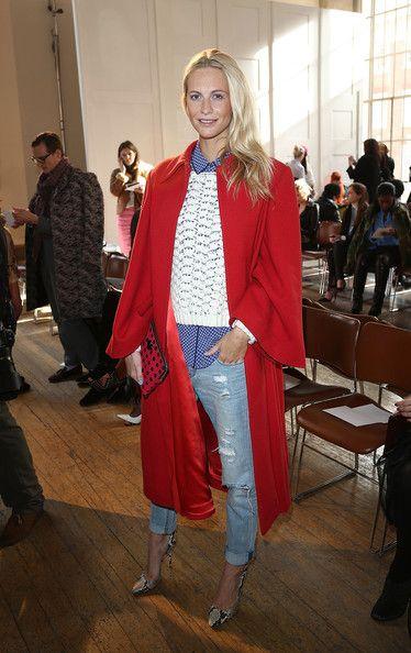 Emilia Wickstead: Front Row - London Fashion Week AW14 - Pictures - Zimbio