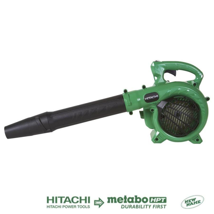 Hitachi 24 Cc 2 Cycle 170 Mph 441 Cfm Handheld Gas Leaf Blower