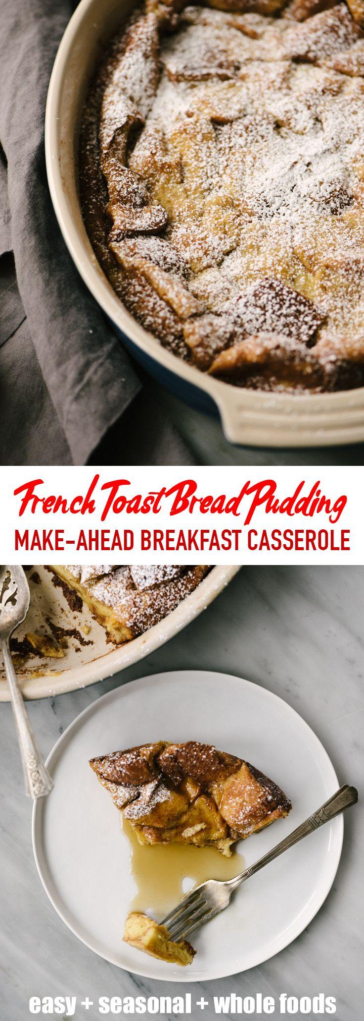 French Toast Bread Pudding | Recipe | Breakfast casserole ...