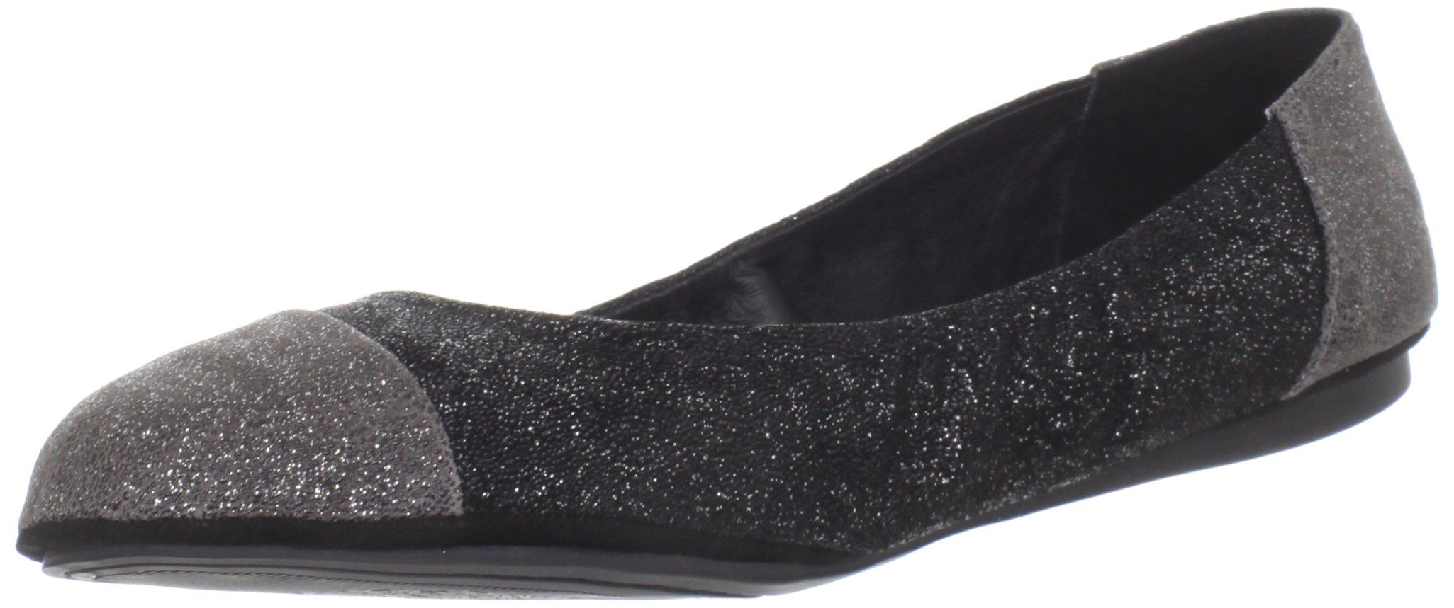 Vince Camuto Women's VC-Ernest Ballet Flat,Black/Urban Grey,10 M US. Flexible rubber sole.