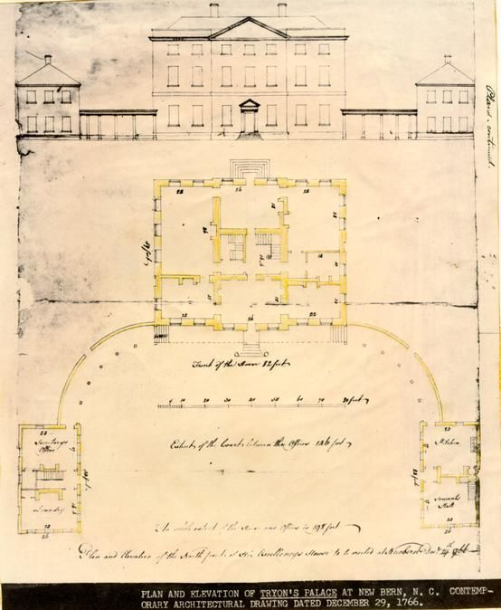 Colonial Williamsburg Digital Library Tryon Palace House Plans How To Plan
