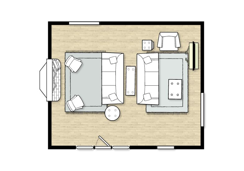Living Room Layout Room Size 21 X 17 Living Room Layout