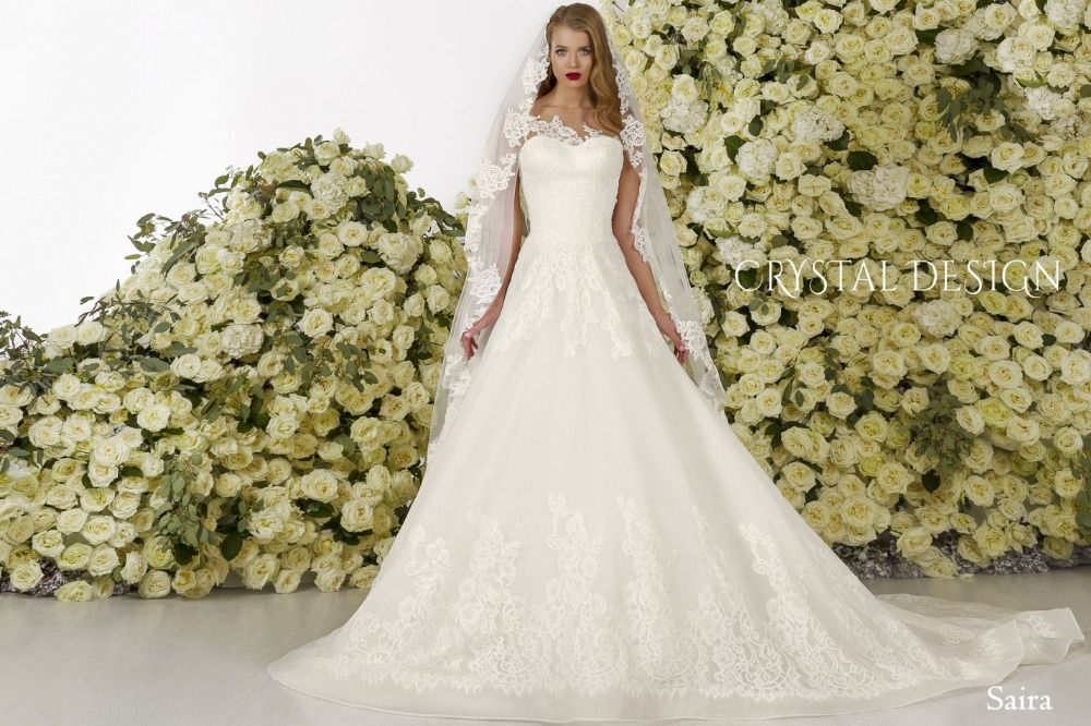 >> Click to Buy << Hot Sale Wedding Dresses Chaple Train A Line Floor Length Appliques Lace Sleeveless O Neck Backless 2016 Weeding  Gowns #Affiliate
