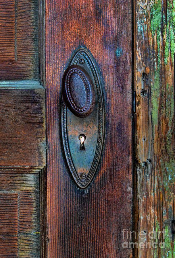 antique door knobs | Vintage Door Knob Photograph by Jill Battaglia ...