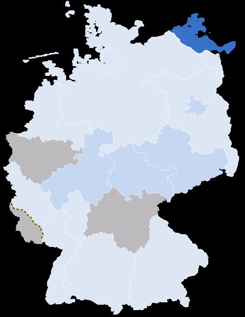 Karte Statistiken Allianz Deutscher Länder