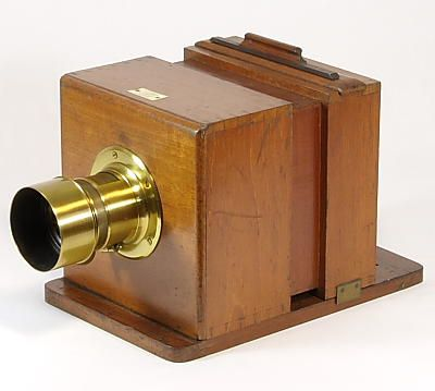 Image Of Sliding Box Wet Plate Camera Ca 1863 Wet Plate Plate