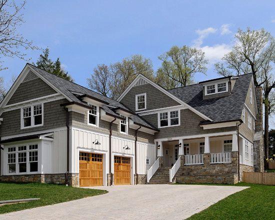 Exterior Wavy Siding Design Ideas Pictures Remodel And Decor House Exterior Exterior Design Traditional Exterior