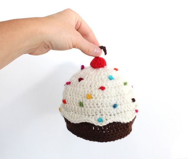 Apoyo de la foto Crochet magdalena sombrero, gorrita magdalena ...