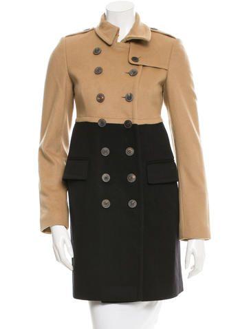 Burberry Wool & Cashmere-Blend Coat Dress-like | Wearables: Coats ...