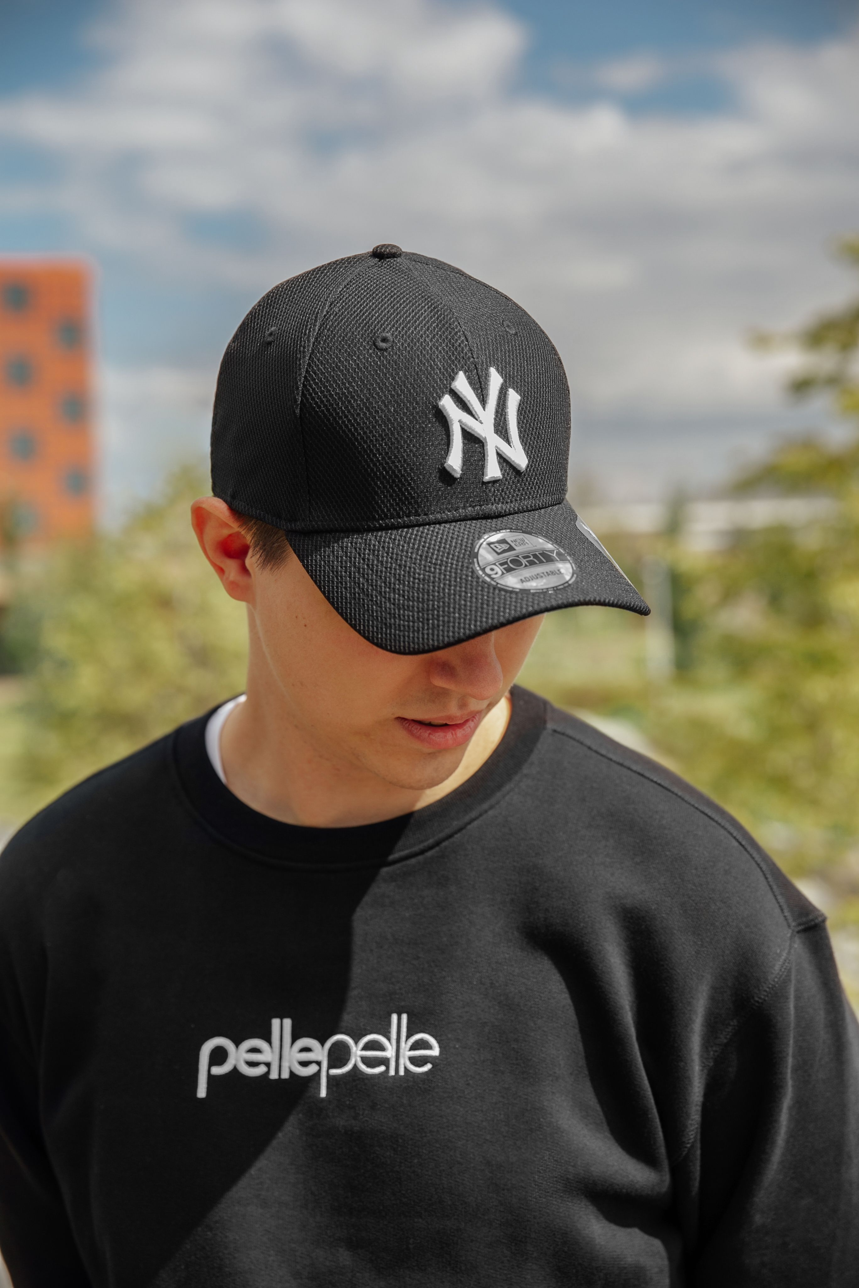 9forty Diamond Era New York Yankees Black Cap New York Yankees Logo New York Yankees Black Cap