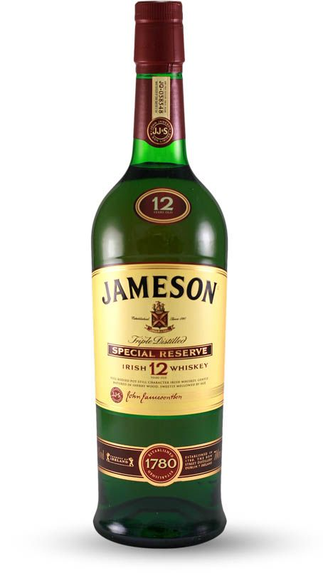 Jameson 12 Year Old Whiskey Spirits Collection Whiskey Jameson Oldest Whiskey