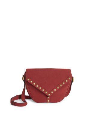 b619ba4b9b8d SAINT LAURENT Y Studs Besace Suede Crossbody Bag.  saintlaurent  bags  shoulder  bags  lining  cotton  crossbody  suede