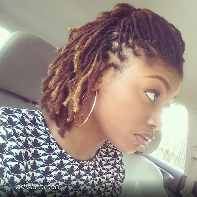 Half Updo Locs Color Loc Luv Pinterest Half Updo Locs And Updo