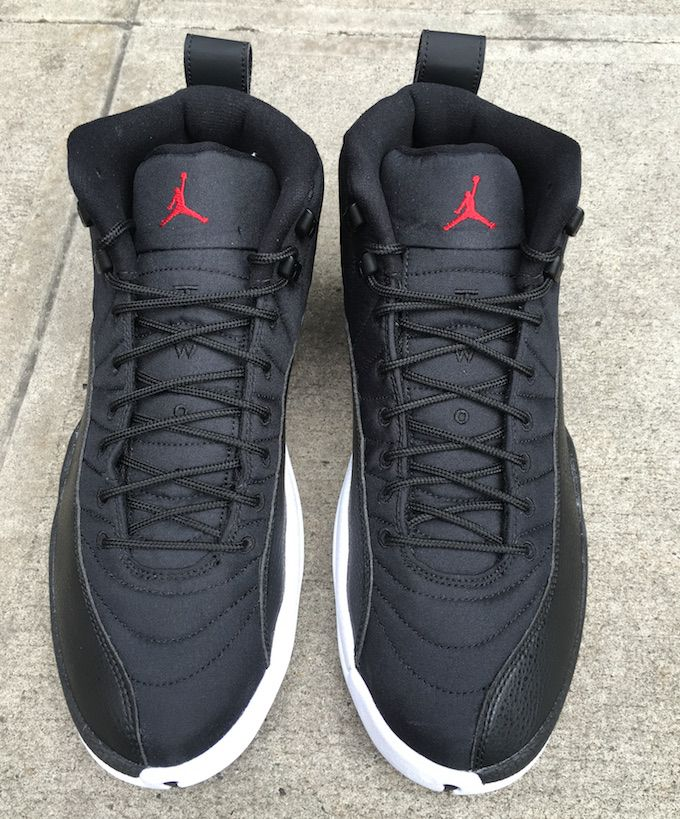 "7723a3a69abc New Air Jordan 12 ""Black Nylon"" Release Date"