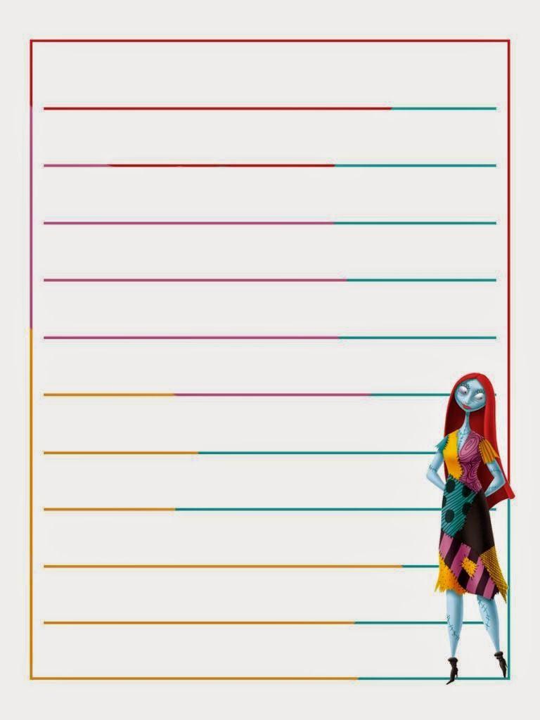 Nightmare Before Christmas Jack Skellington 2020 Planner Jack Skellington Free Printable Notebook. in 2020 | Sally