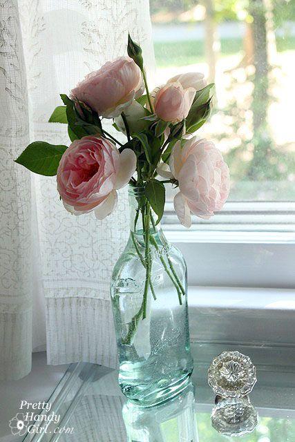 Upcycle Liquor Bottle For Gorgeous Vase Pretty Handy Girl