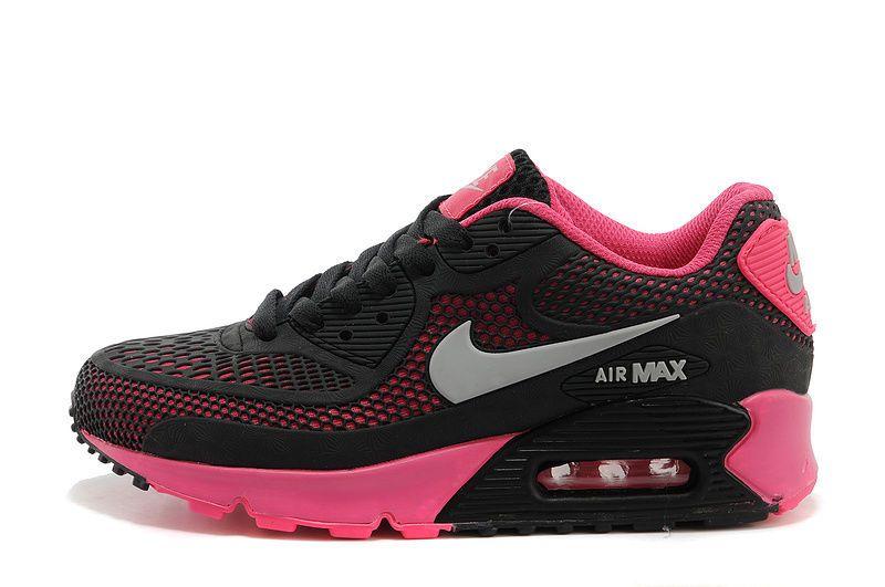 Nike Air Max 90 Ultra Black Pink Runing Training Hot Fashion