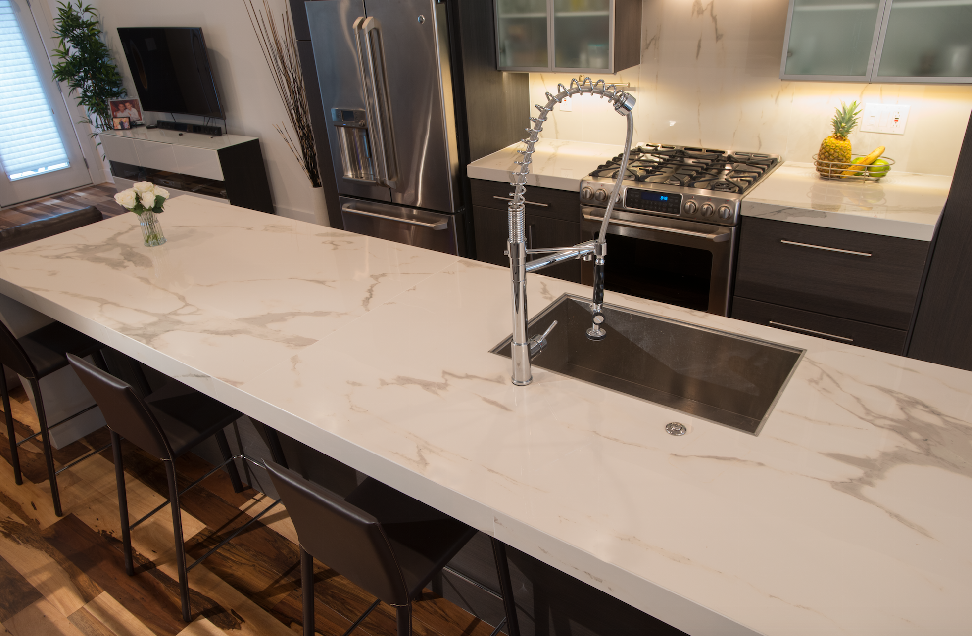 Talking Tile From Coverings2015 Tile Countertops Kitchen Porcelain Tiles Kitchen Kitchen Countertops