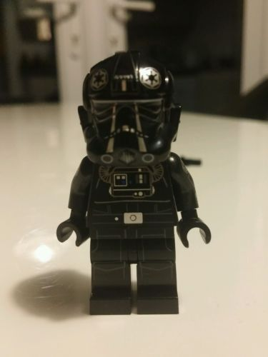 Lego star wars #75095 ucs tie fighter #pilot #minifigure rare and ...