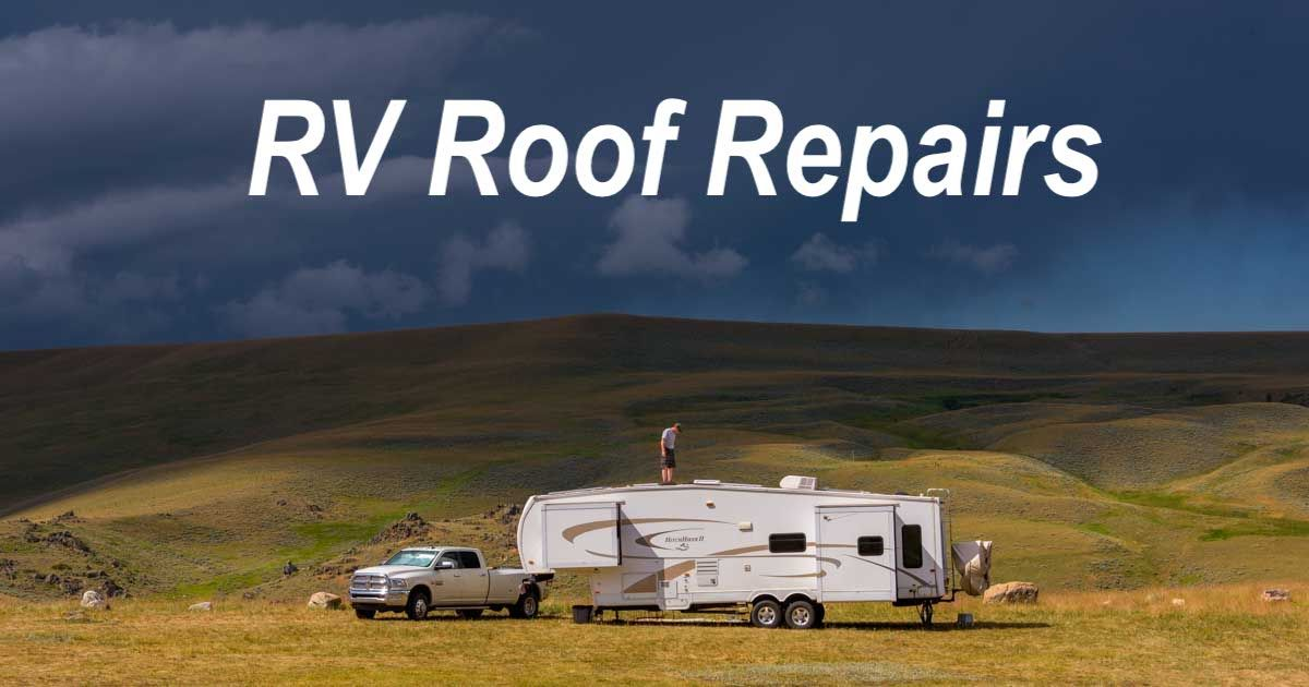 Rv Roof Repair Rubber Roof Patch Holding Tank Vent Cap