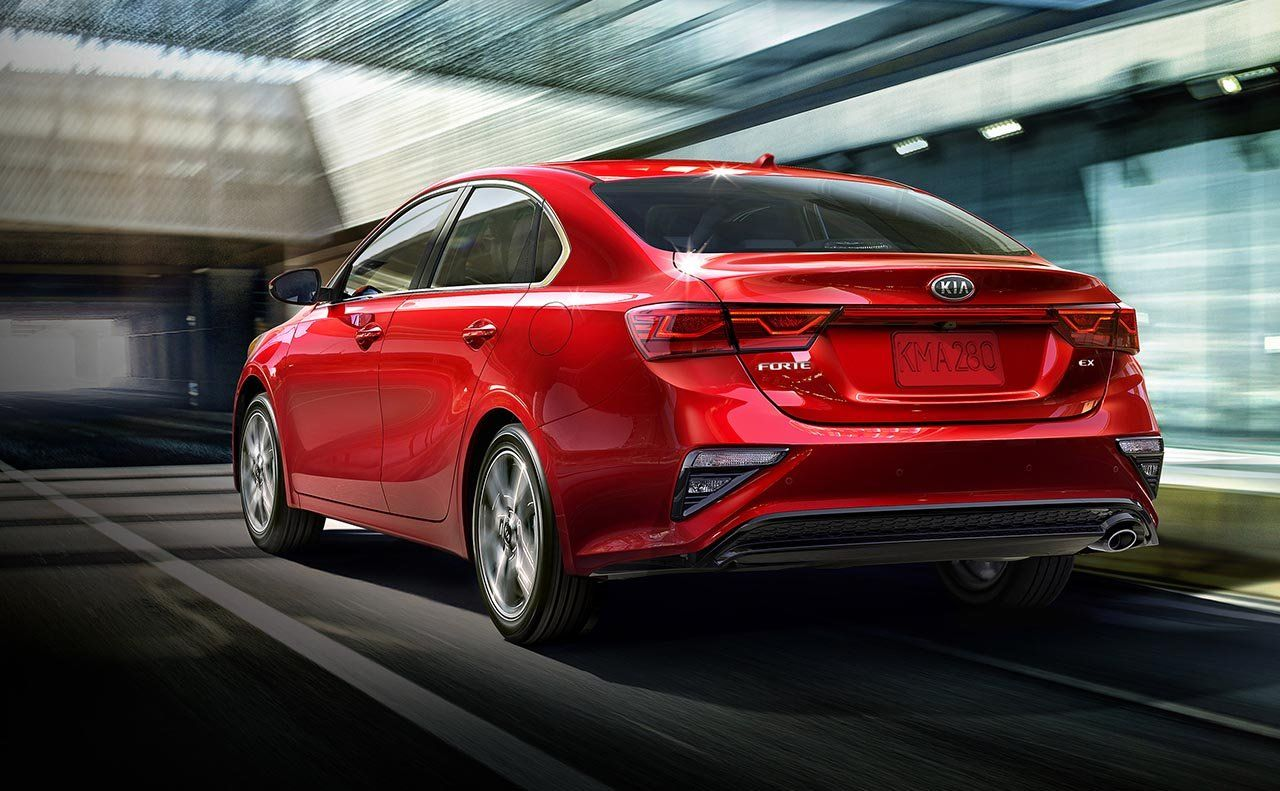2019 Kia Forte Back View Kiaforte Exterior Kiacar Kia Forte Kia Car Find