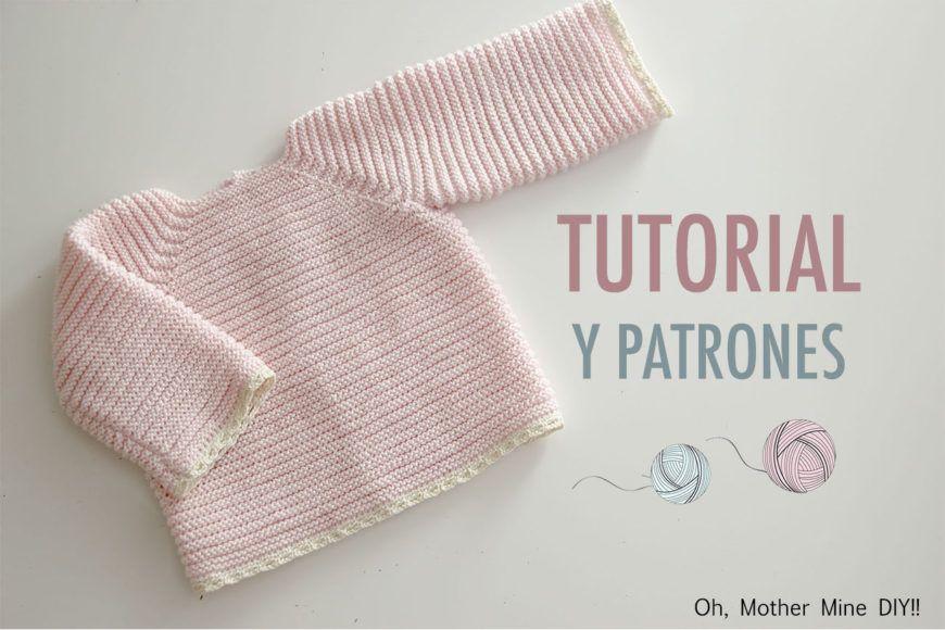 Ropa de lana: Jersey de punto paso a paso (patrones gratis) | bebes ...