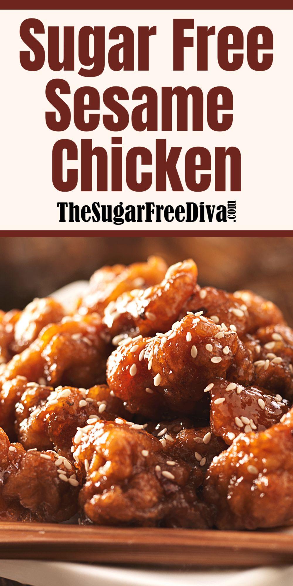 (The Best!) Sugar Free Sesame Chicken!