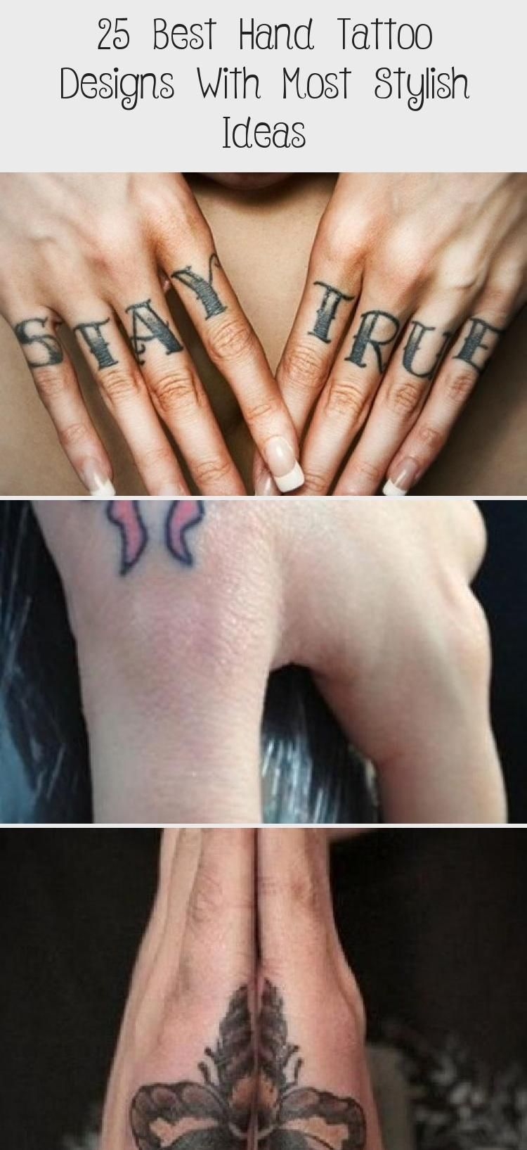 25 Best Hand Tattoo Designs With Most Stylish Ideas Tattoo In 2020 Cute Hand Tattoos Simple Hand Tattoos Stylish Tattoo