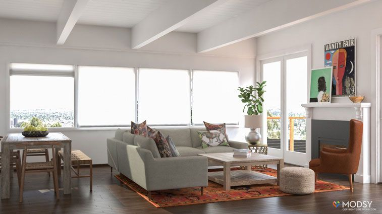 modsy design site interior designer pinterest 3d rendering 3d