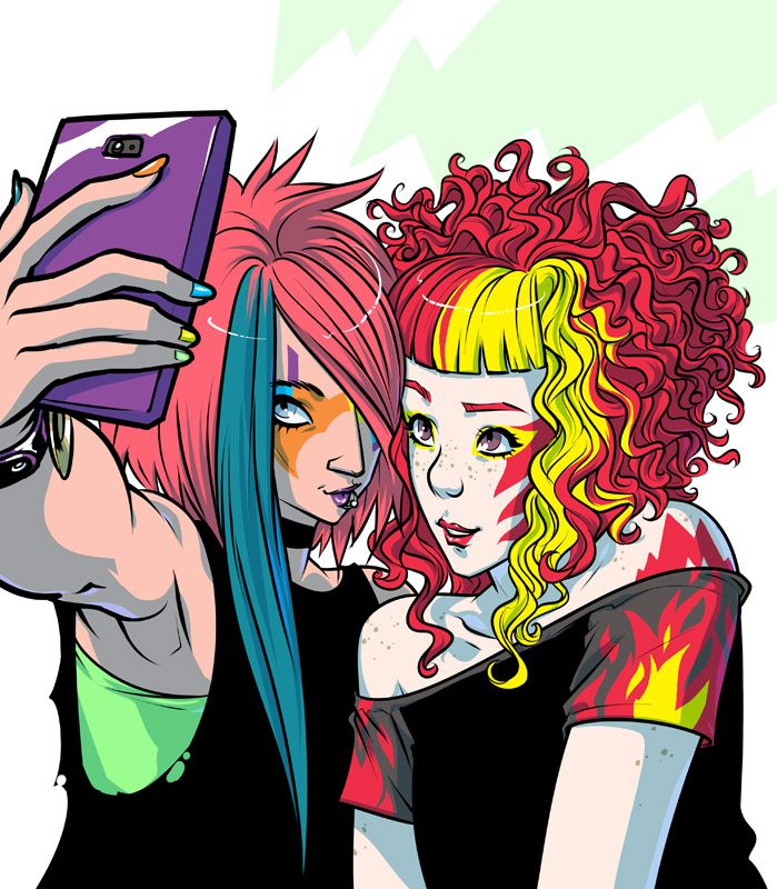 Groupies By Mooncalfe Deviantart Com On Deviantart Jem