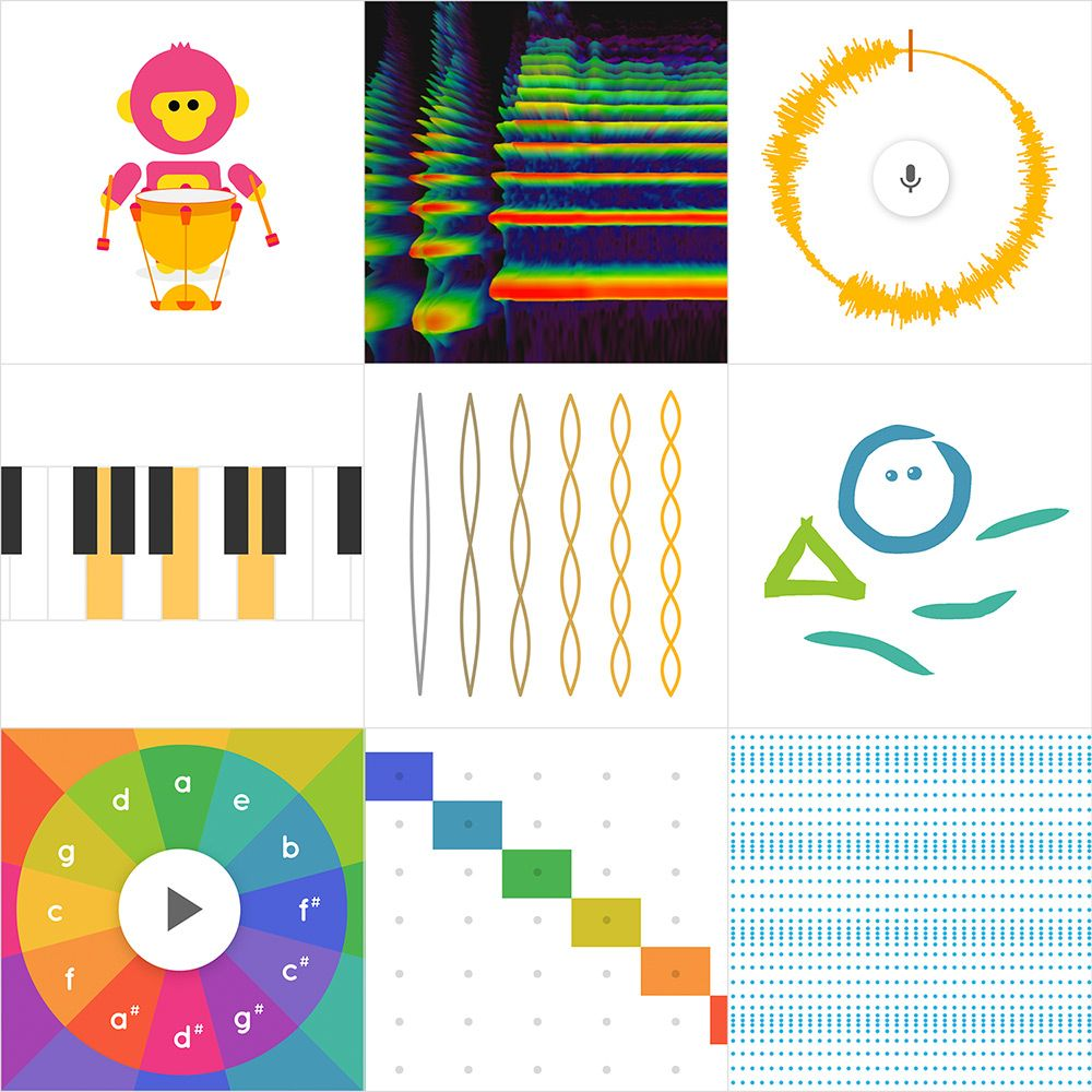 Laat Je Leerlingen Gratis Muzikaal Experimenteren In Het Chrome Music Lab Met Deze Website Wil Google Door Het Aanbieden Van L Muziek Muzieklessen Liedjes