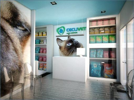 Cl nicas veterinarias se alizacion pinterest tienda - Diseno de clinicas veterinarias ...