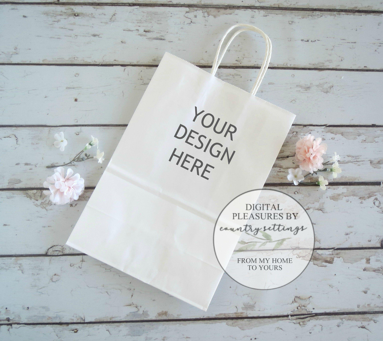 Download Blank Gift Bag Mockup Party Bag Mockup White Gift Bag Mockup Wedding Mockup Party Bag Easy Backdrops Bag Mockup