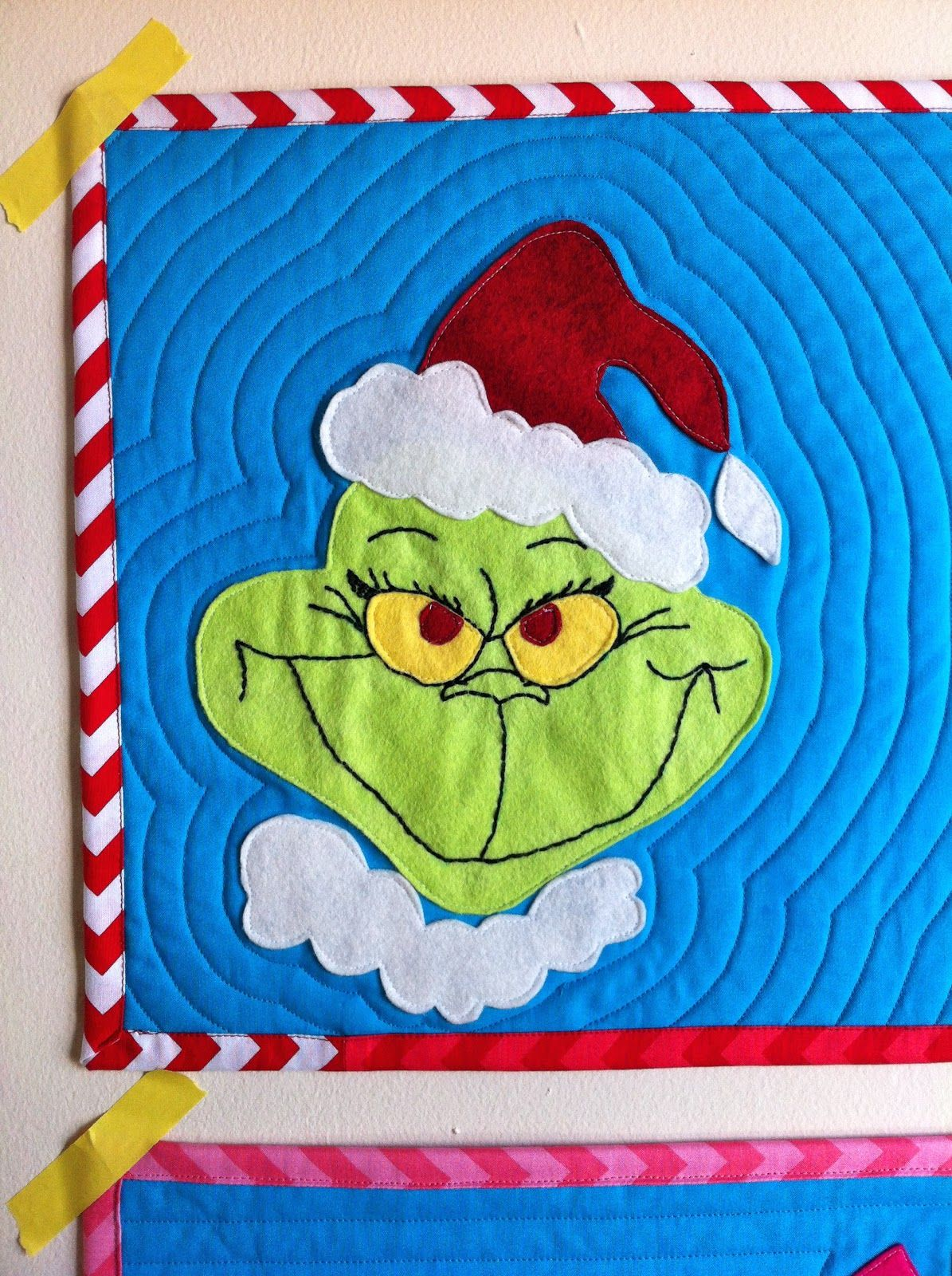 Grinch Placemats With Free Pattern