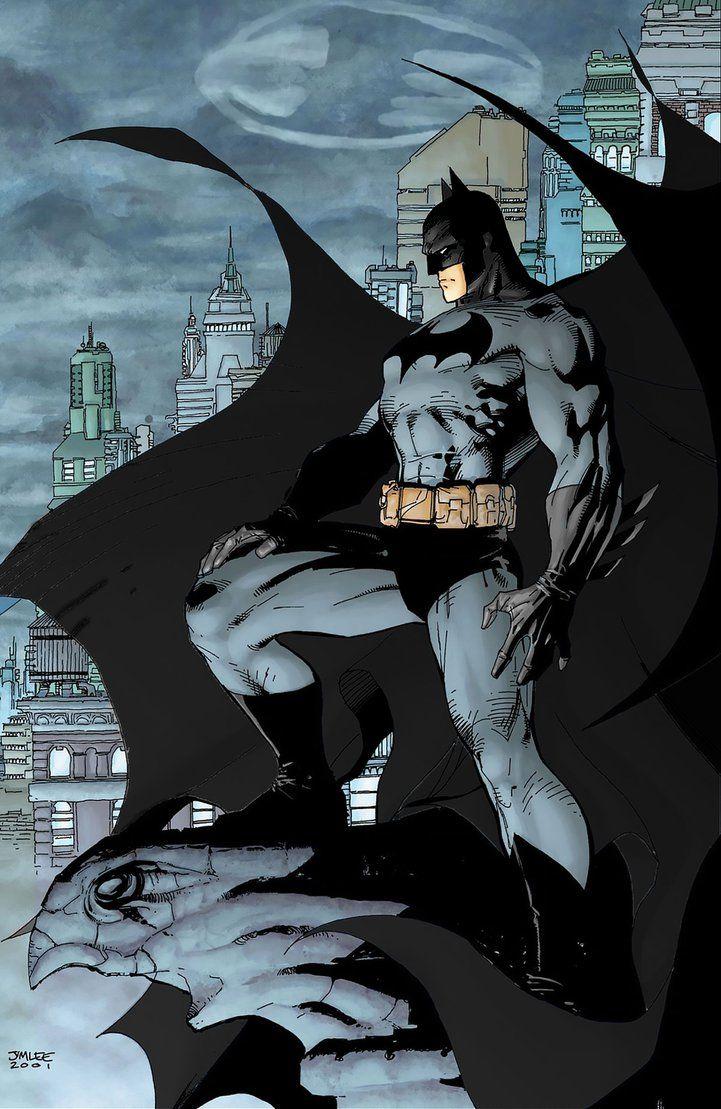 Jim Lees Batman Recolored By Alexbadass Deviantart Com On Deviantart