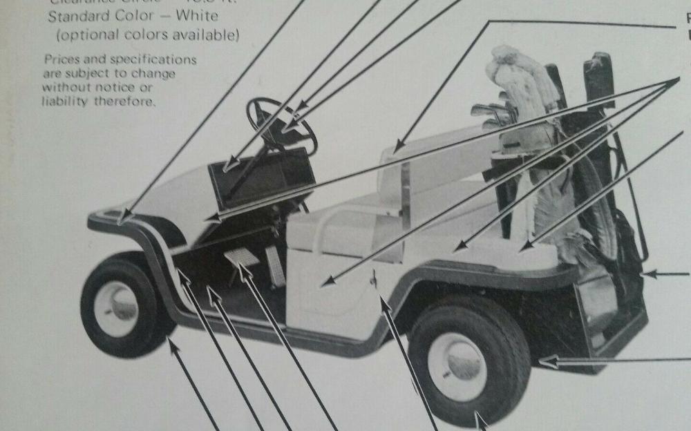 Vintage 1979 Golf Cart Advertisement Davis 500 Paragon Ebay Golf Carts Vintage Golf Golf