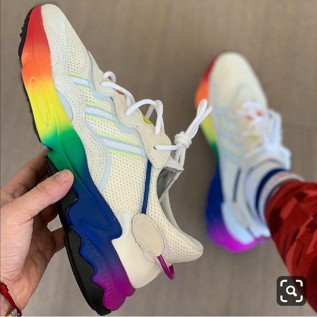 shoes #hashtag *ADIDAS OZWEEGO PRIDE* *SIZE - 41 TO 45 ...