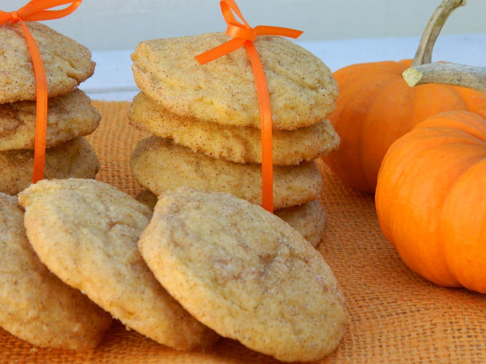 The Wednesday Baker: PUMPKIN SNICKERDOODLE COOKIES