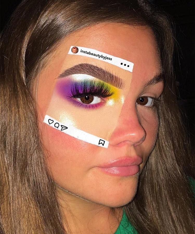 Instaception Is The Coolest New Makeup Trend On Instagram With