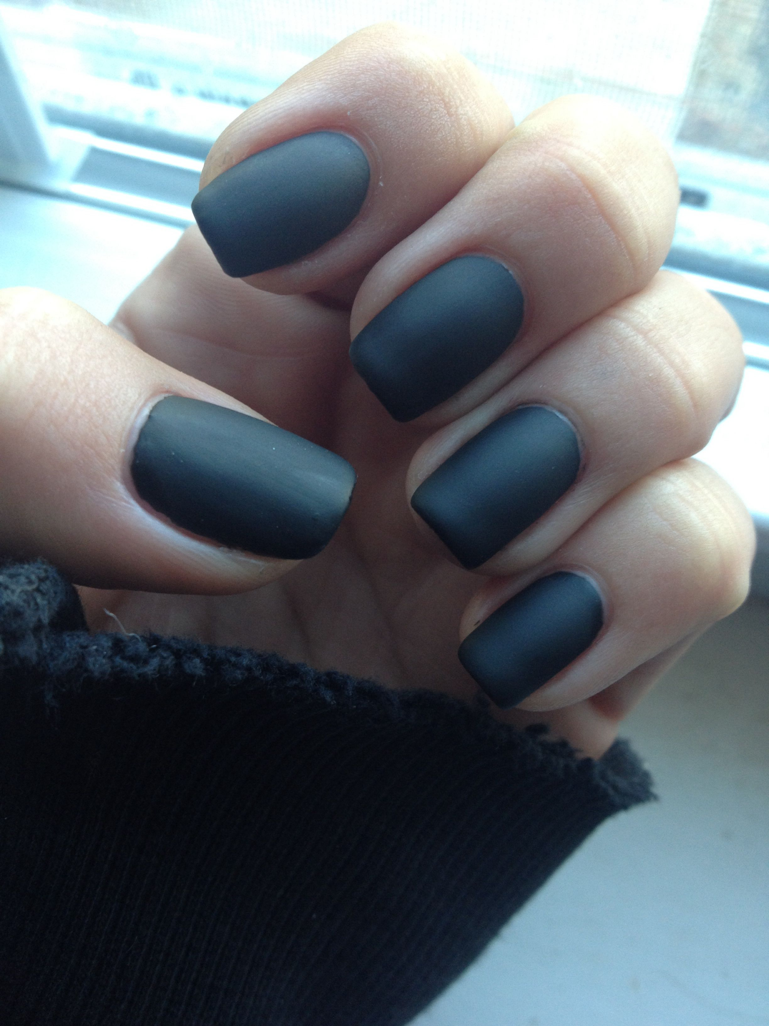 Matte gel nails | NAIL$• | Pinterest