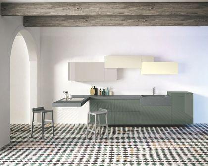 Idée relooking cuisine 24 modèles de cuisine contemporaine  moderne - Modeles De Maisons Modernes